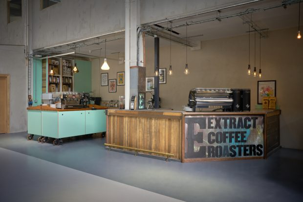 UK's Extract Coffee Roasters Forges Sustainable Workspace Solution in London