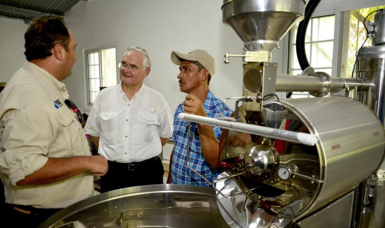 panama canal coffee