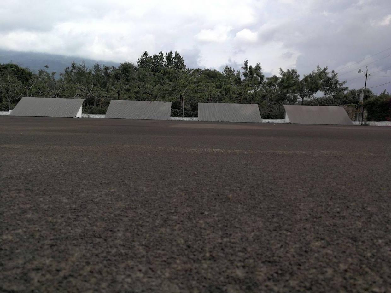 coffee volcano guatemala drying bed ash