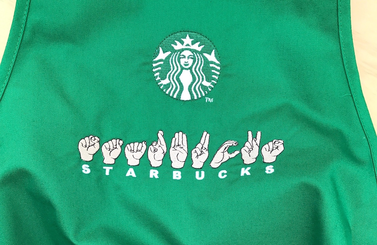 starbucks sign language