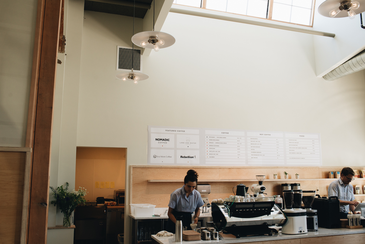 Bay Area CoRoasters CoRo coffee room Berkeley
