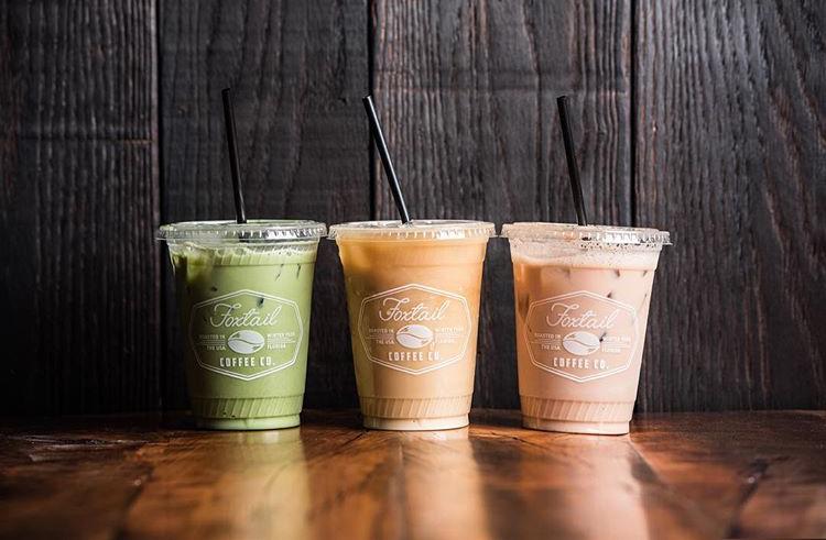 Foxtail Coffee drinks