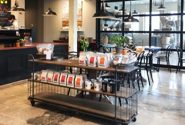 Pavement Coffeehouse Opens 5,000-Square-Foot Roastery Cafe in Boston