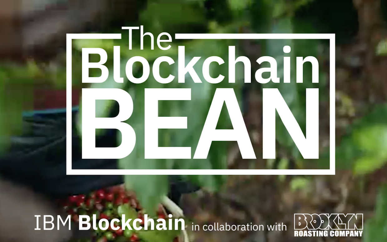 Blockchain Bean coffee IBM Brooklyn Roasting