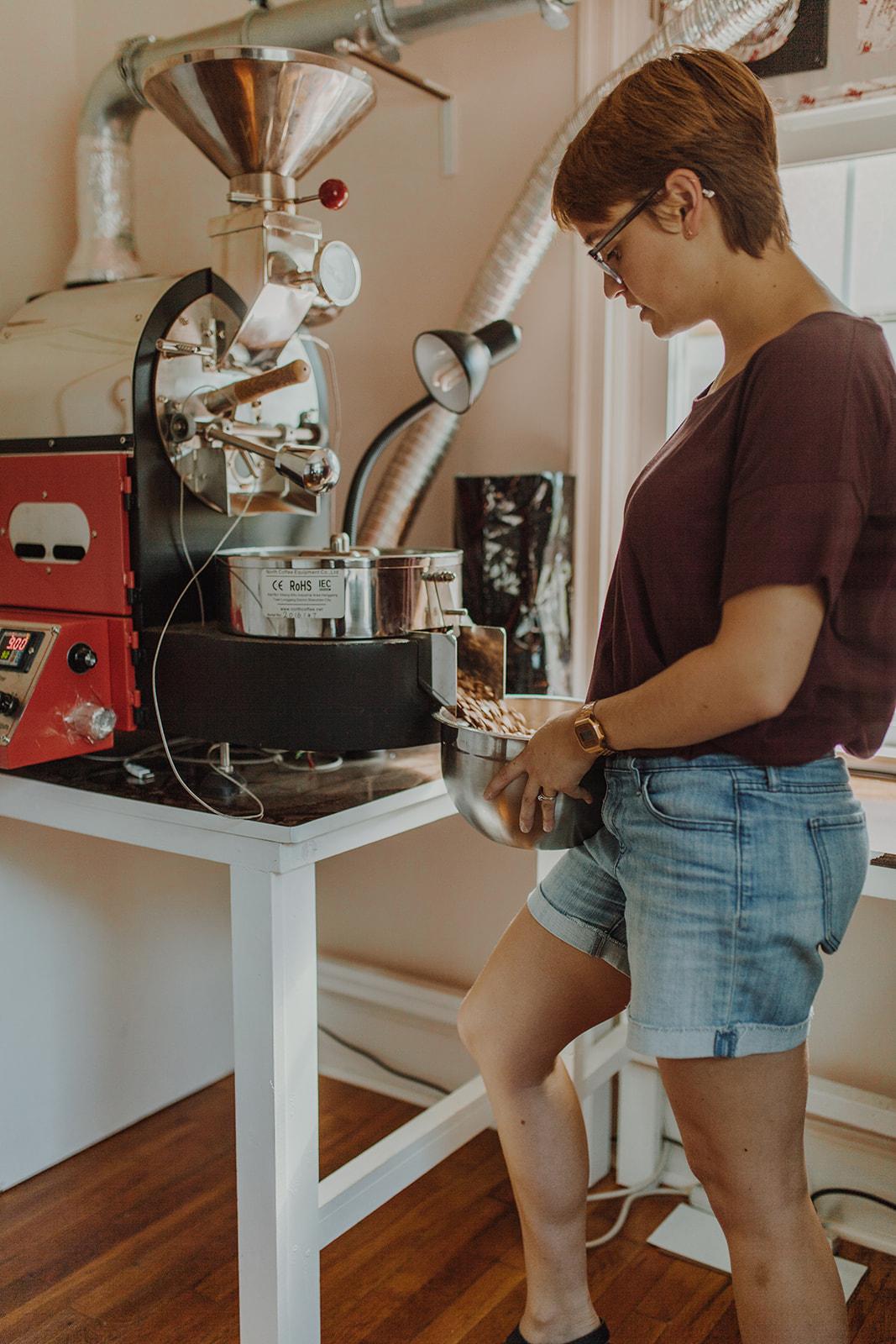 Mill city coffee roasting machine