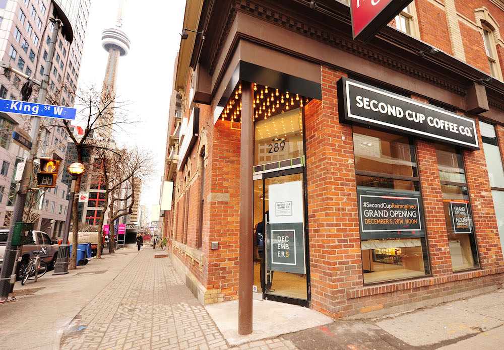 second cup coffee toronto