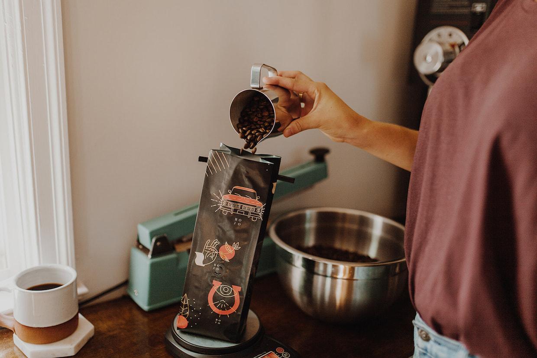 Caballo Rojo coffee bags