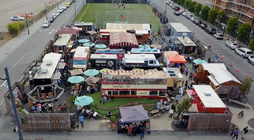Spark Social SF soccer field