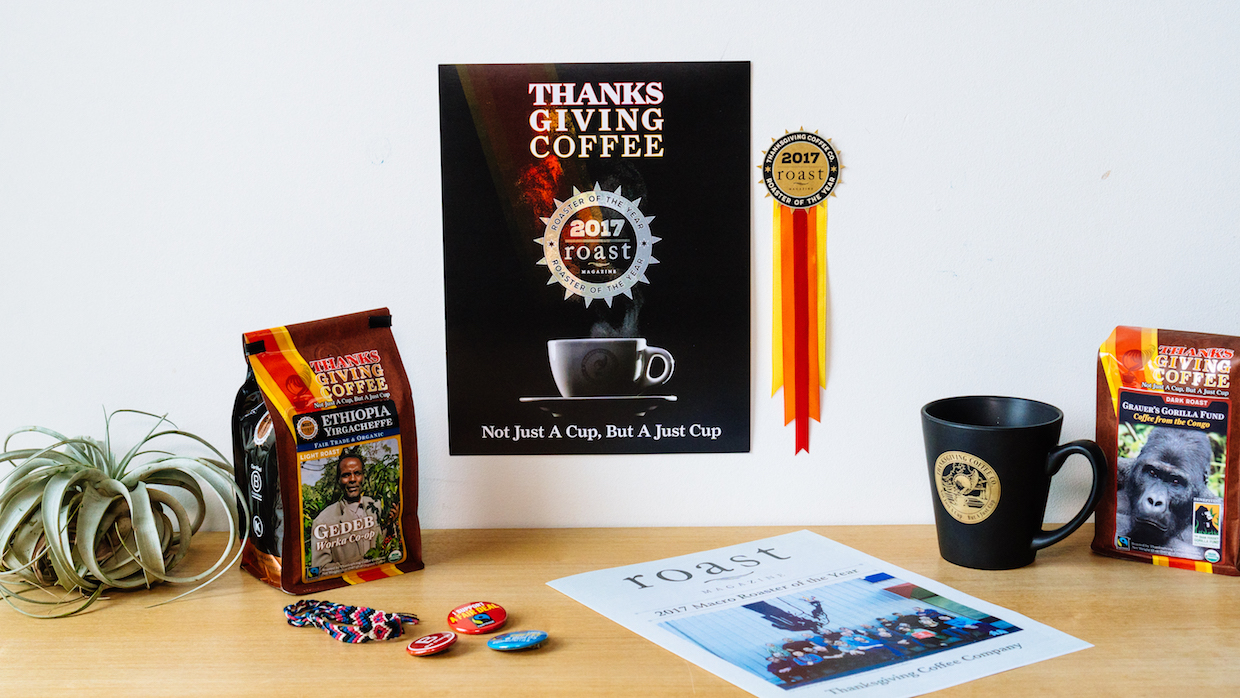 Thanksgiving Coffee Roaster of the Year