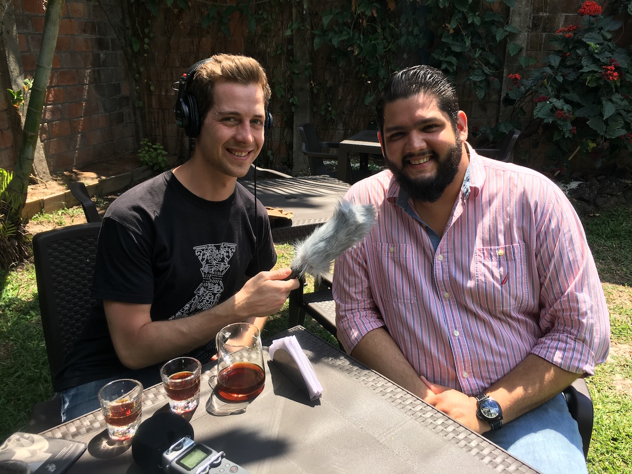 Filter stories podcast coffee