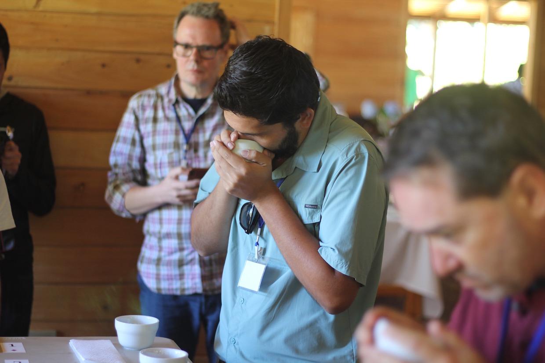 Origin Approach coffee sourcing event