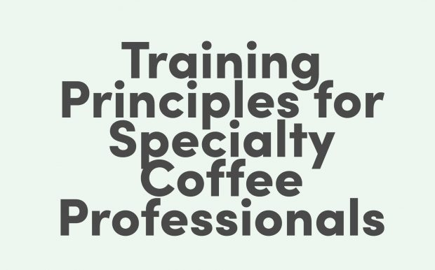 Training Principles for Specialty Coffee Professionals book