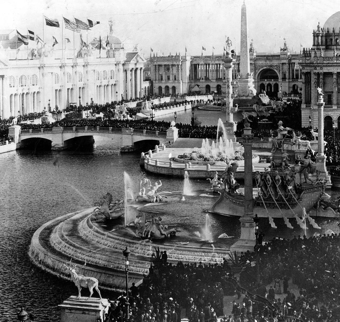 PICTURESQUE WORLD'S FAIR. AN ELABORATE COLLECTION OF ... |Worlds Fair 1893