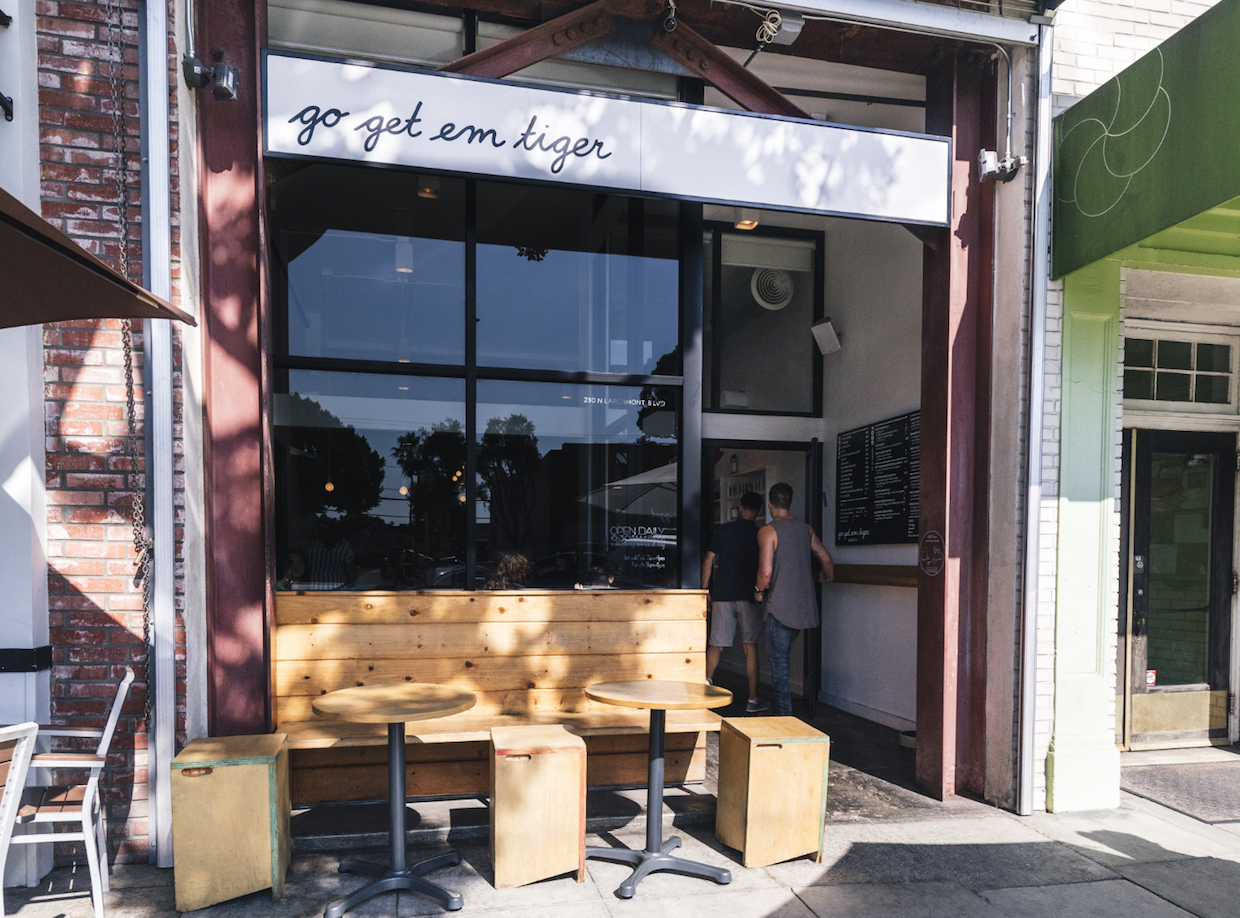 Go Get Em Tiger GGET B&B coffee roasting cafe LA