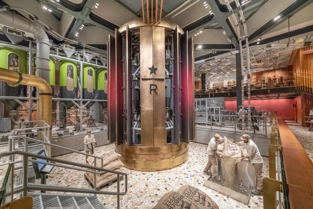 Starbucks 'Humbly' Enters Italy with a 25,000-Square-Foot Coffee Spectacle