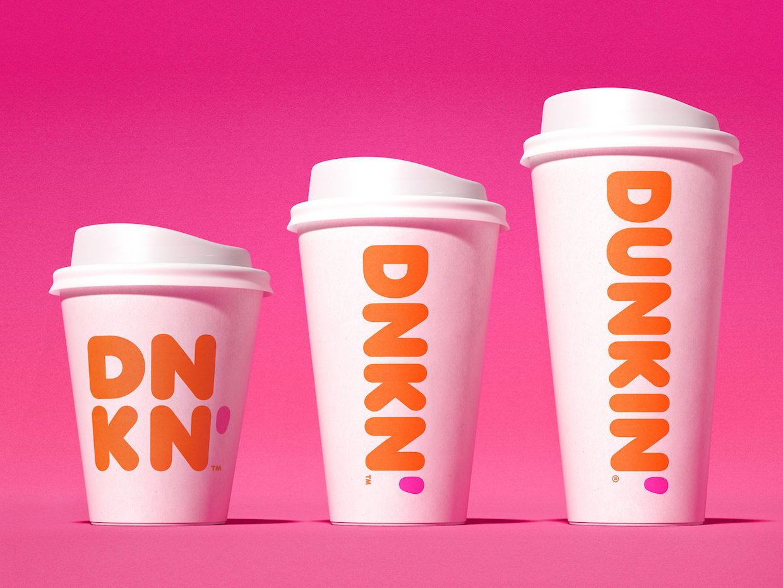 dunkin' cups brand