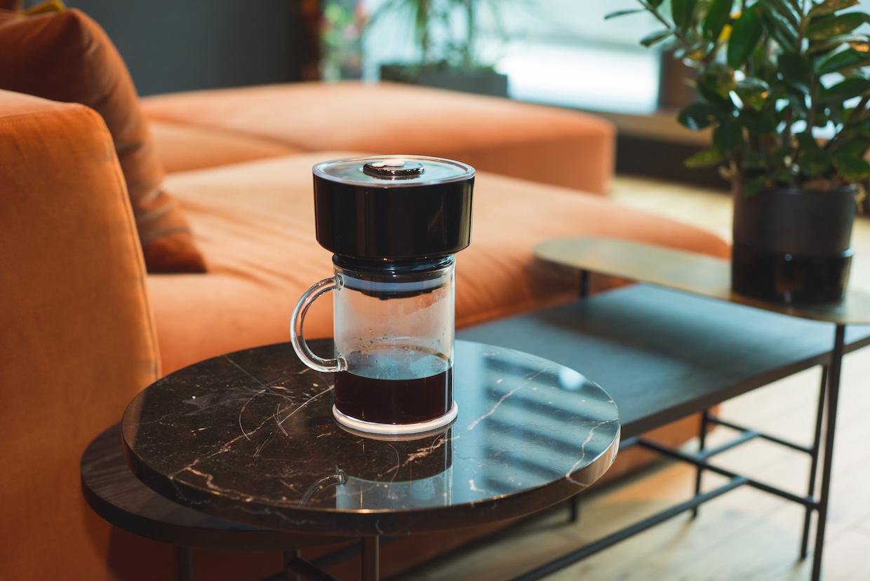 The FrankOne coffee brewer