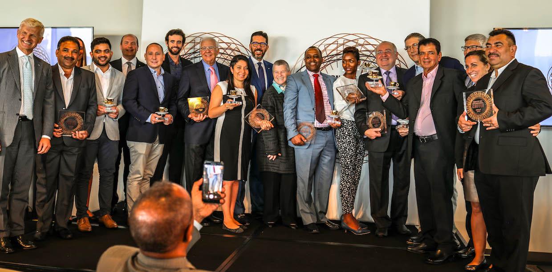 Illy coffee producer awards