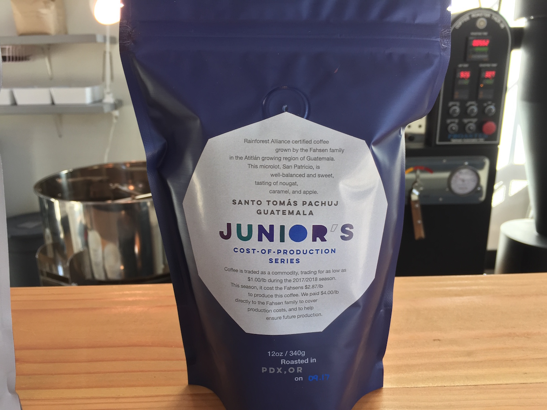 junior's roasted coffee portland