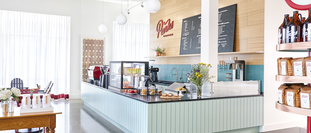 Parks Coffee Roasters and Cafe in Dallas, Carrollton