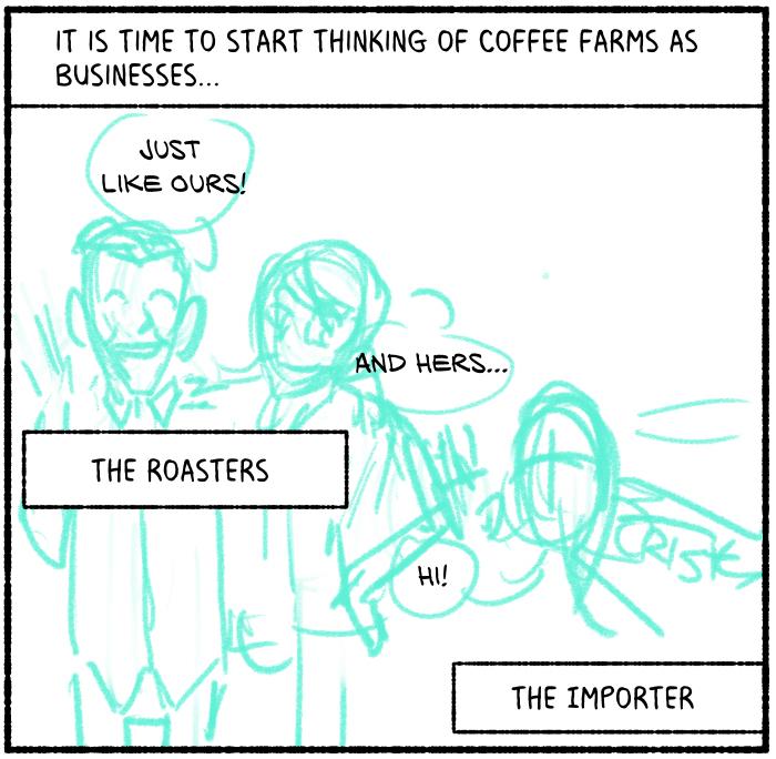 coffee c price comic