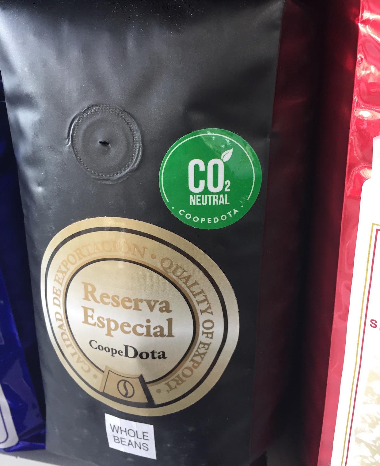 carbon neutral coffee