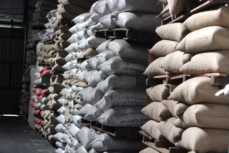 coffee trading futures warehouse stocks