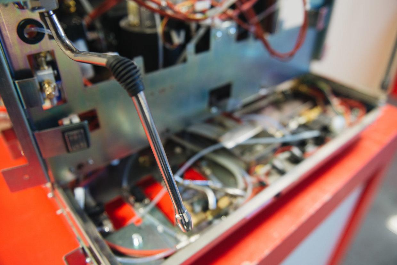 espresso machine pressure and flow