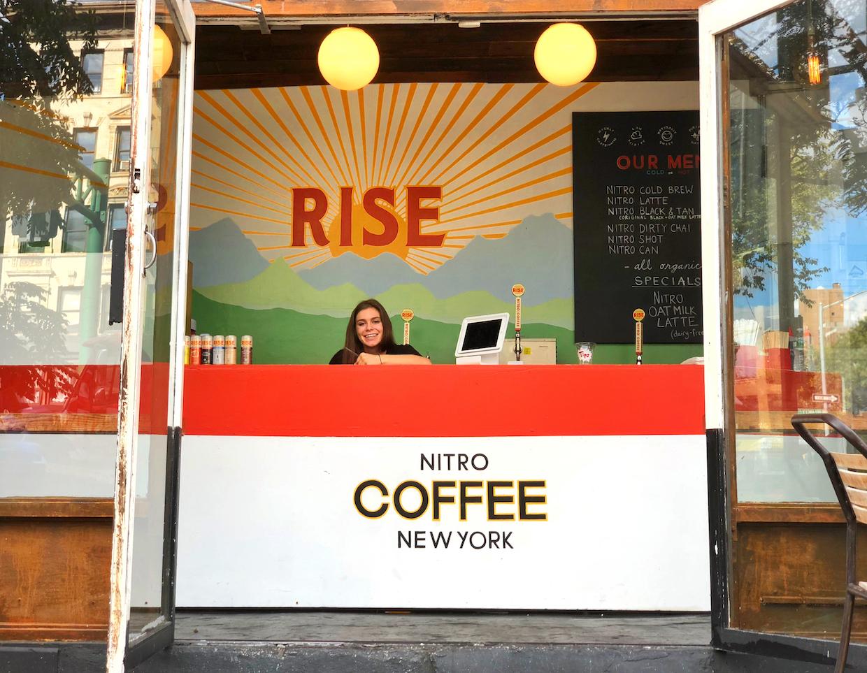 Rise cold brew nitro New York