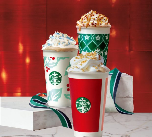 Everything Seemed Normal with This Starbucks Holiday Menu Until the Snowy Cheese