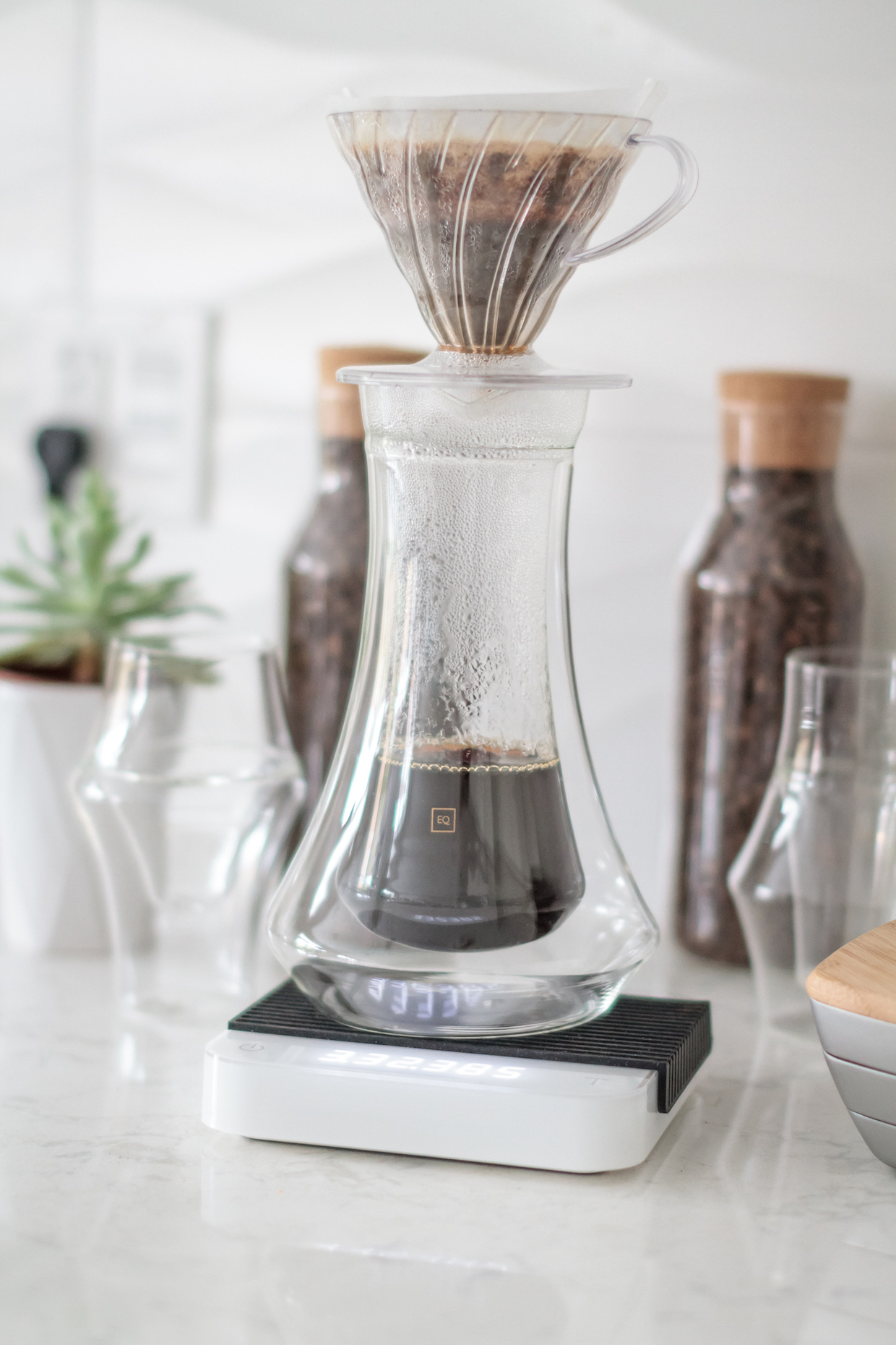 Kruve EQ coffee glasses set