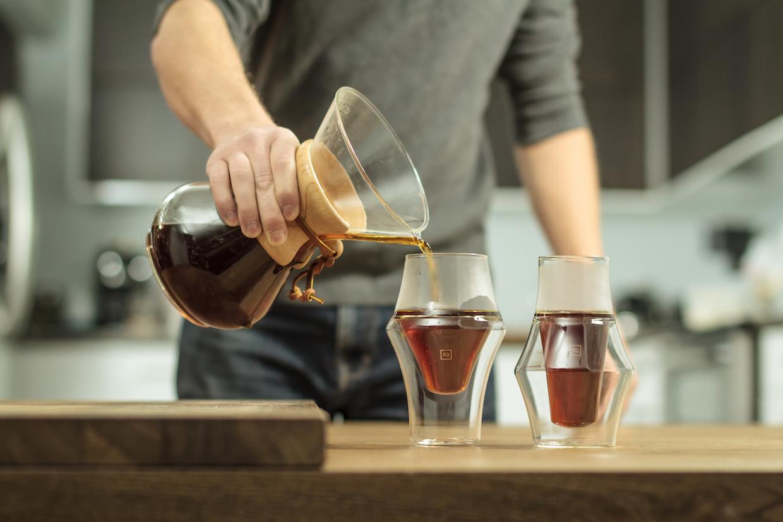 Kruve EQ coffee glasses set