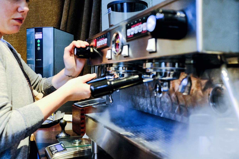 Visions espresso showroom