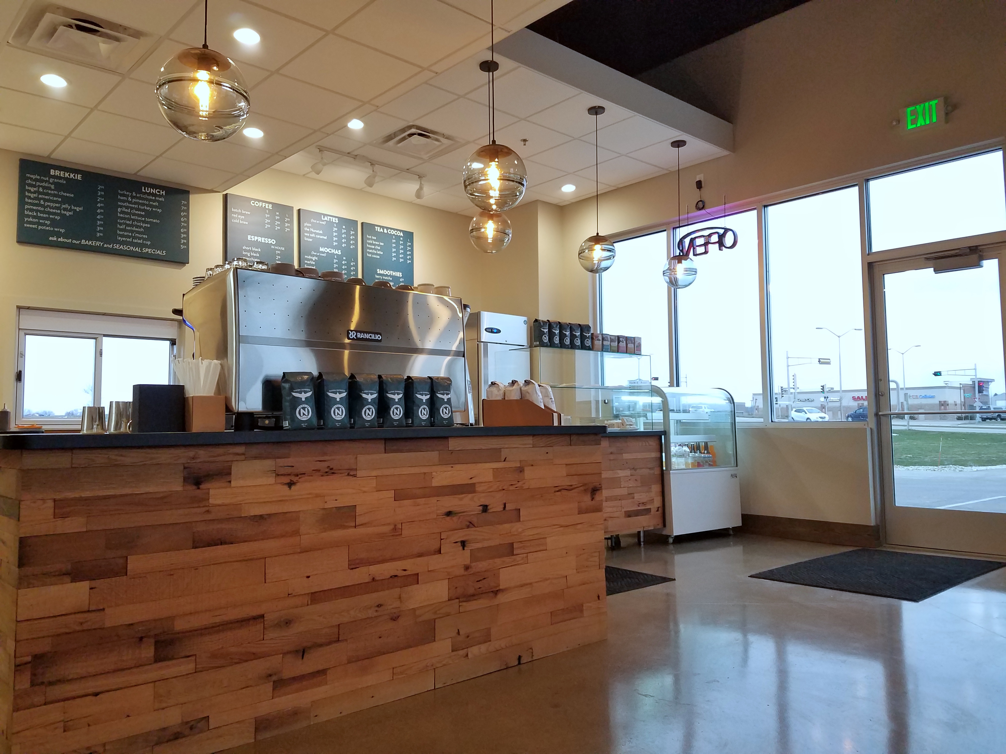 Nunatak Coffee shop