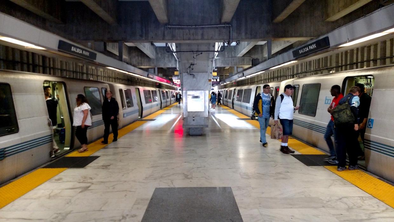 Balboa Park BART station