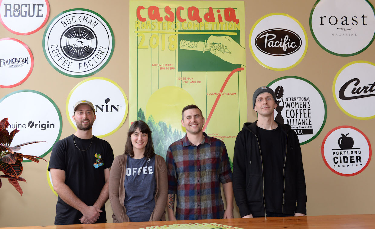Cascadia Cup Coffee Roasting competition in Portland