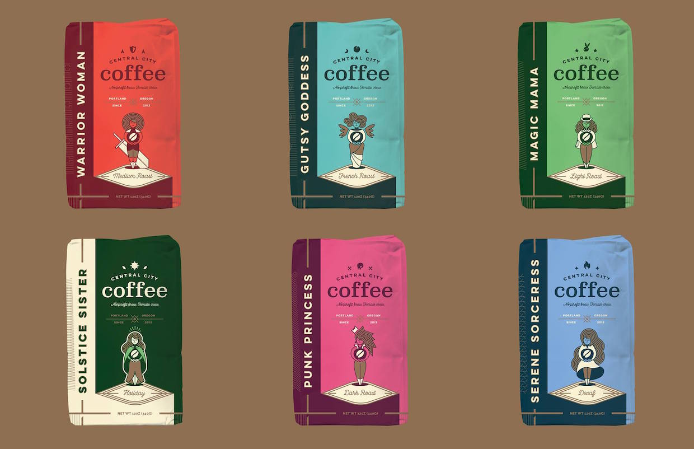 Central City Coffee Portland.