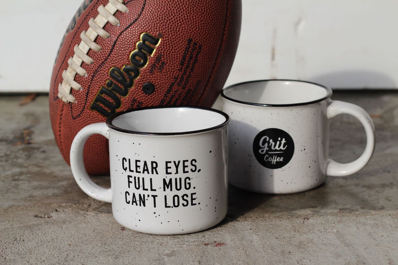 clear eyes full mug