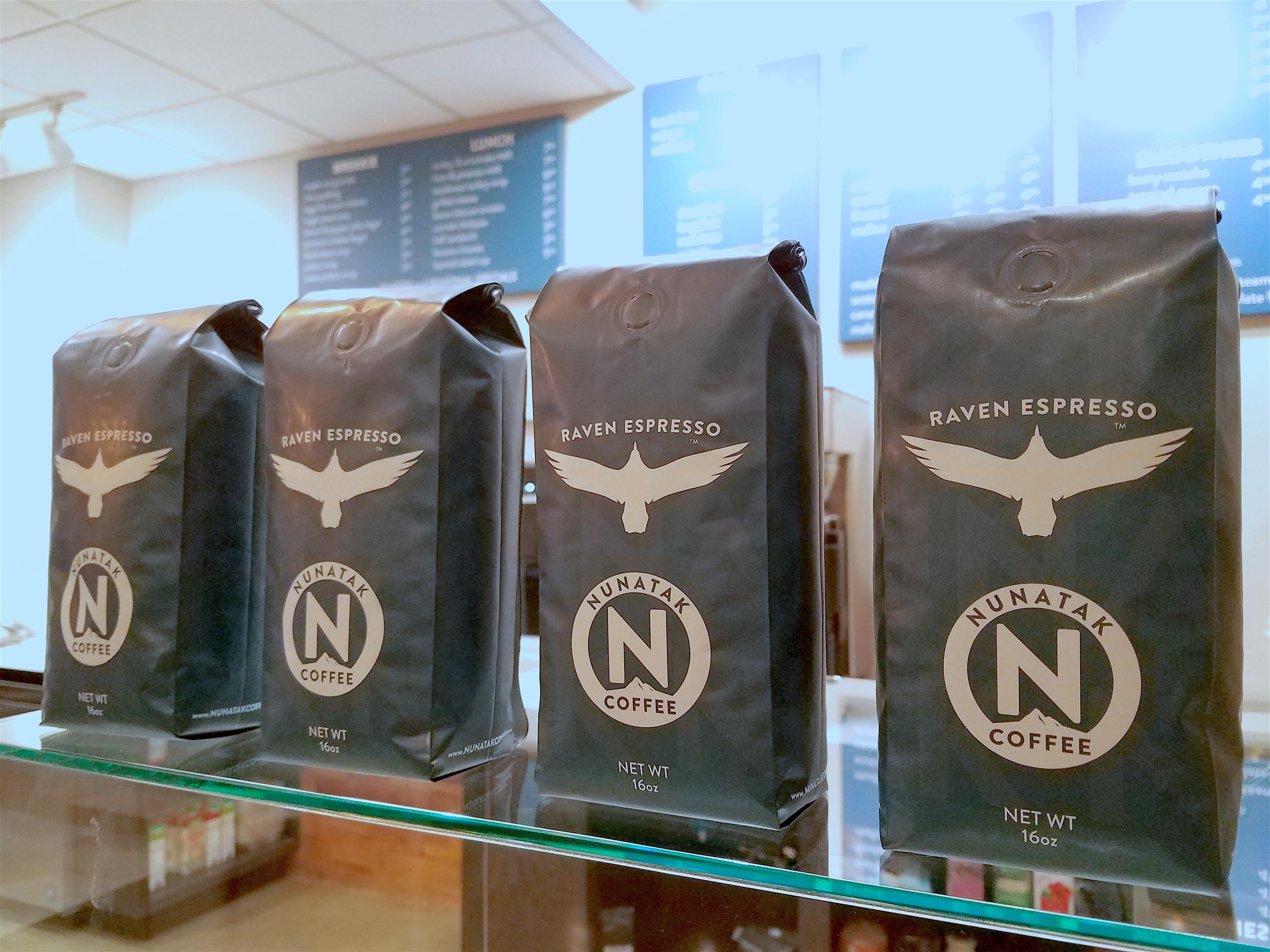 Nunatak Coffee bags