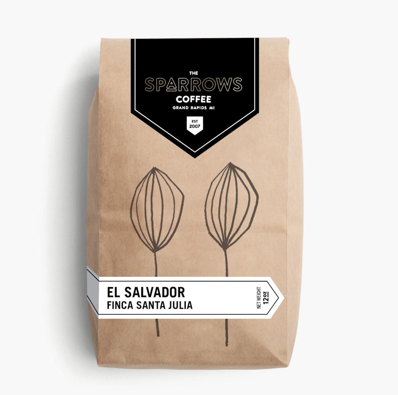 sparrows coffee bag