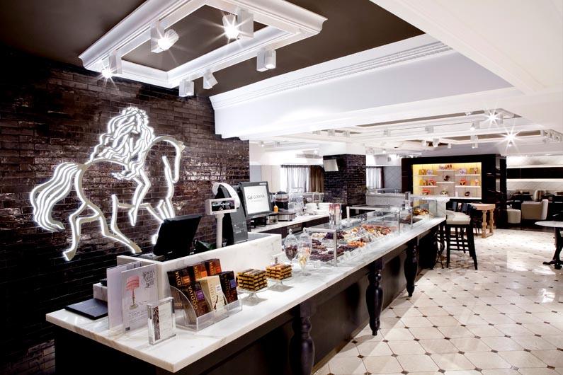 Godiva Chocolate Cafe at Harrods