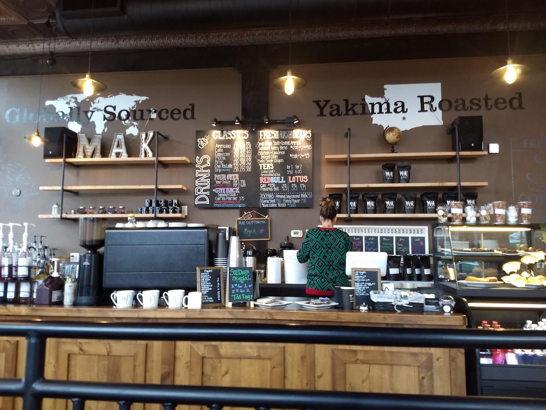 MAK Daddy coffee yakima