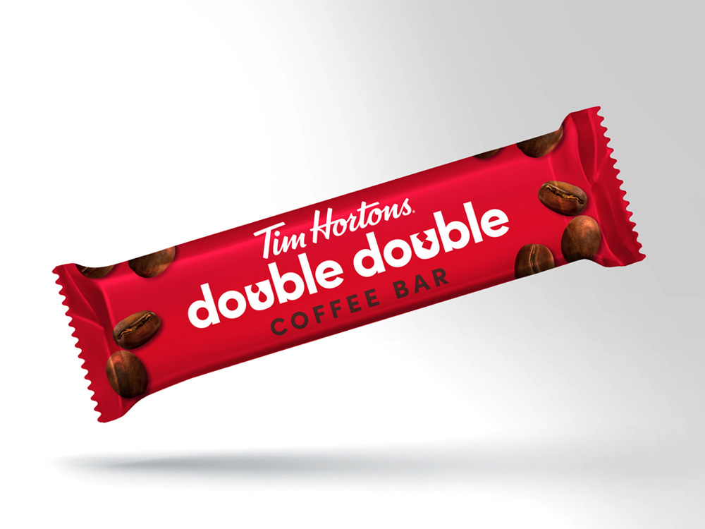Tim Hortons-A Double Double- you can eat- Introducing the new Ti