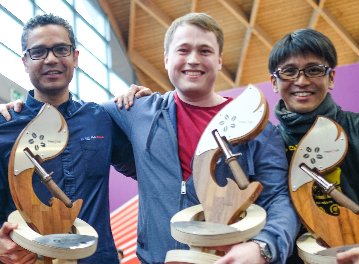 Vladimir Nenashev of Russia Wins the 2018 World Coffee Roasting Championship