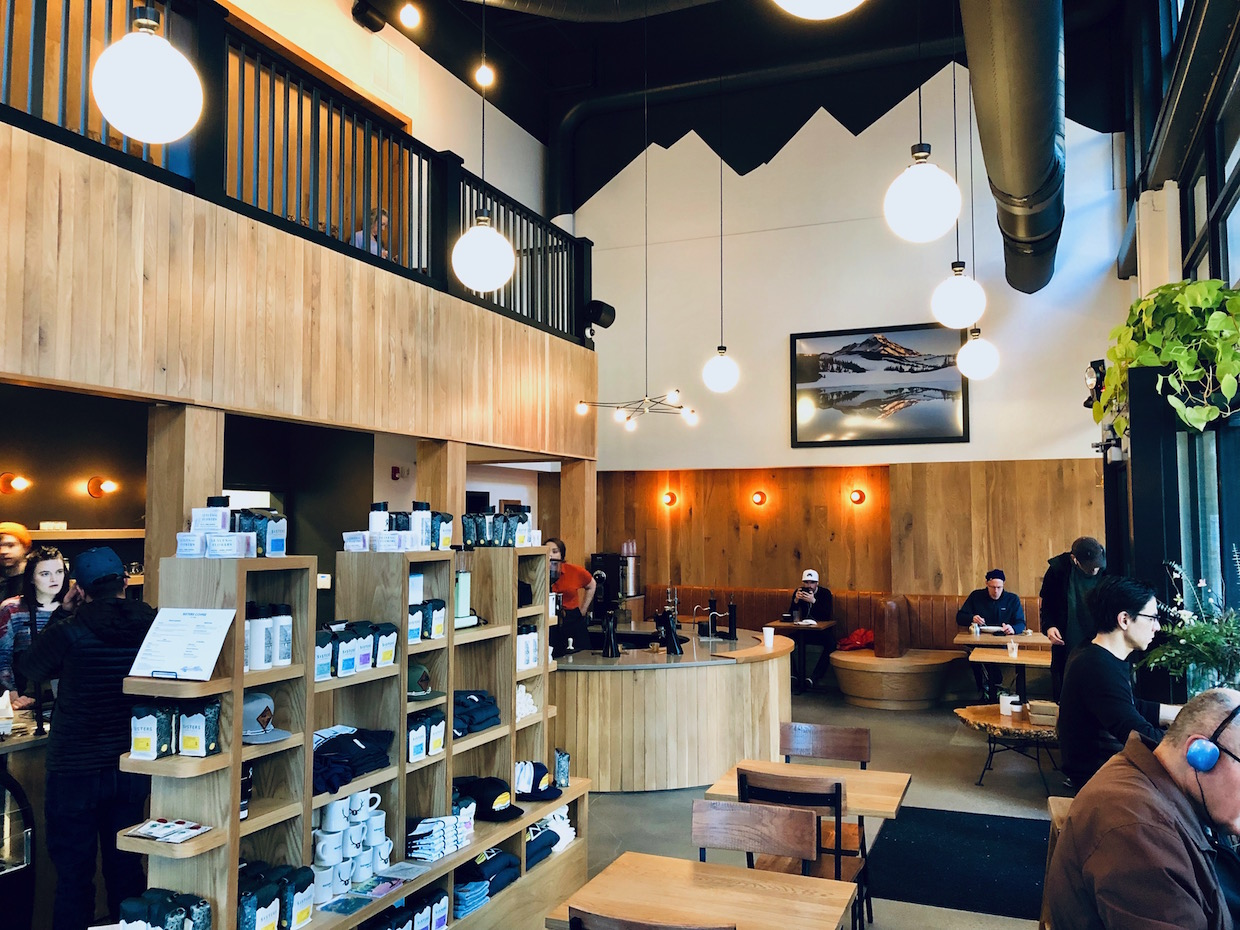 Sisters Coffee Opens Wonderfully Reimagined Portland Cafe After a Fire