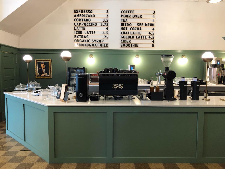 TipTop Coffee Elkins