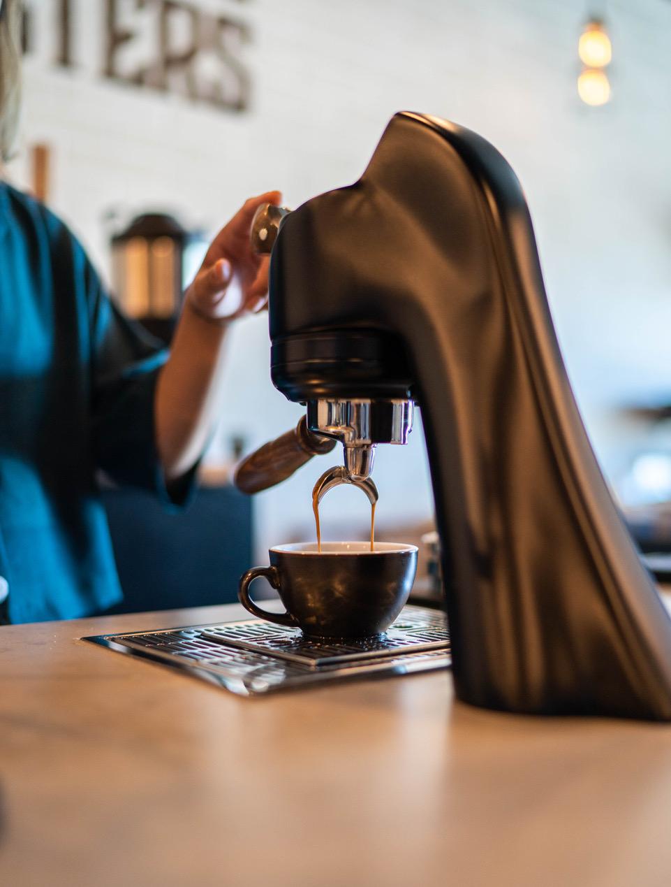 Dark Moon Coffee espresso