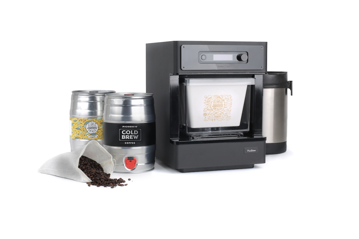 Pico coffee beer brewer