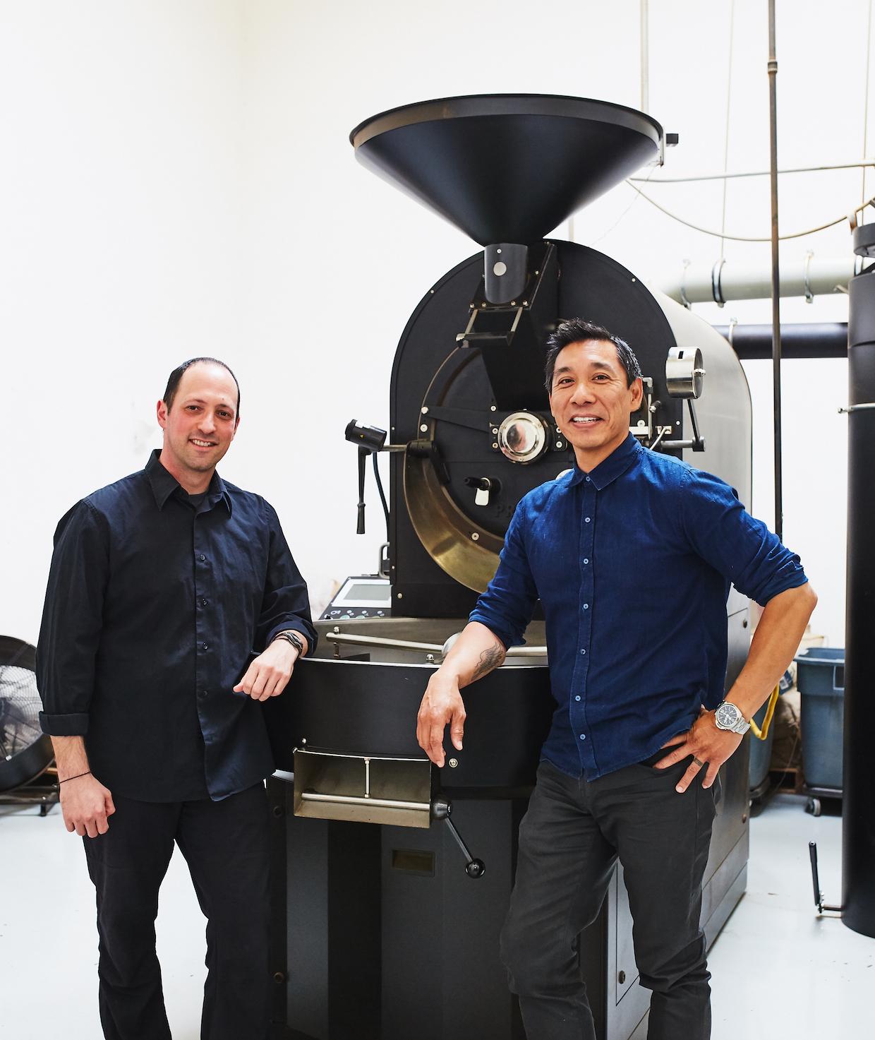 20181018_Mark Wain and Gary Chau at Roastery-308 credit Alicia Cho
