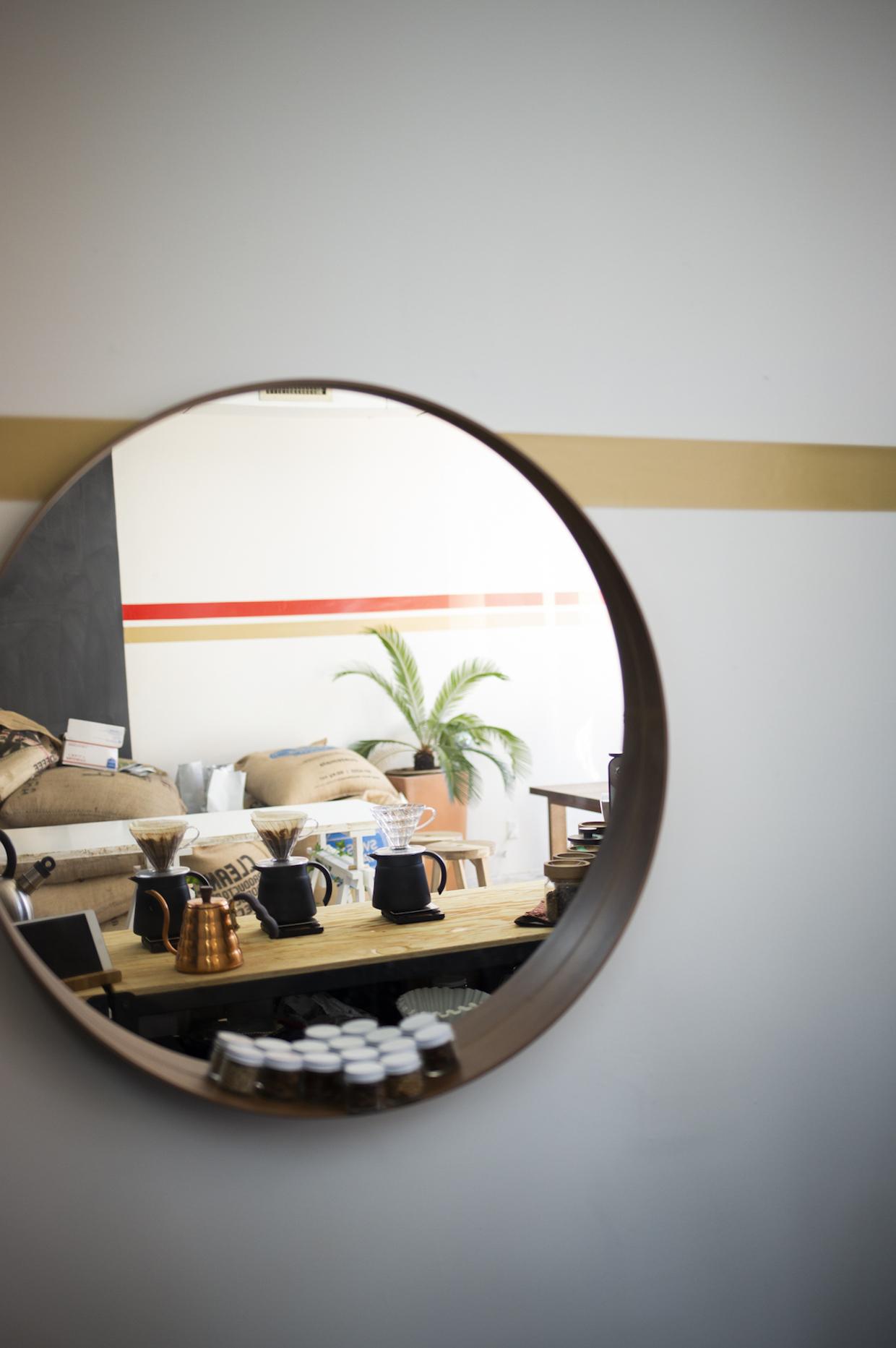 coffee mirror
